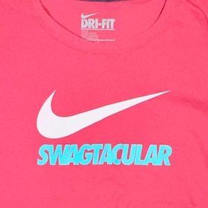 """SWAGTACULAR"" Nike Dri-Fit Tee"